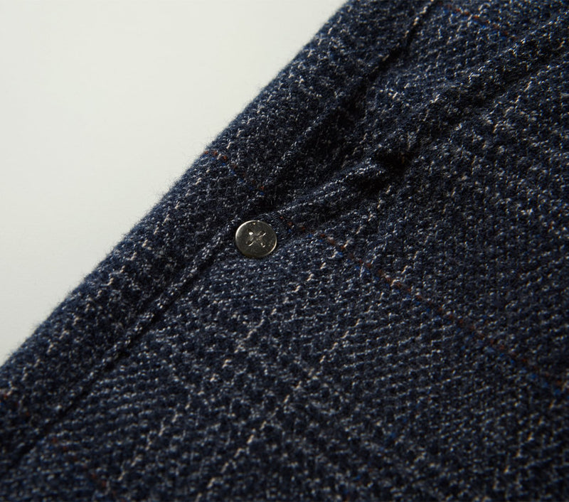 Smart Zespy Pant - Flecked Navy