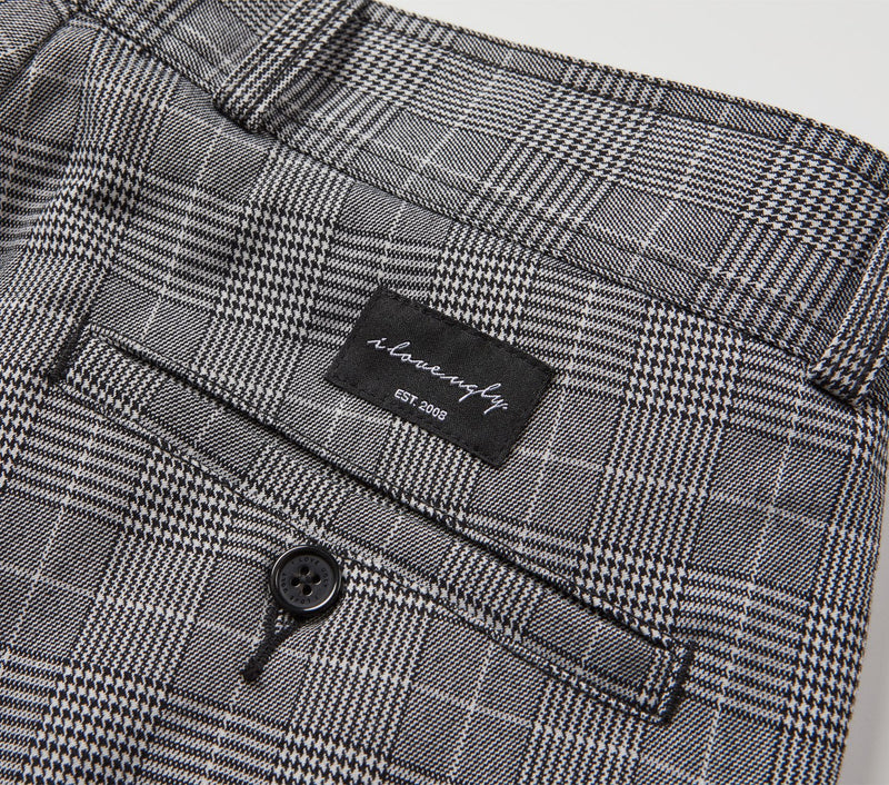 Full Slim Kobe Pant - Black Check