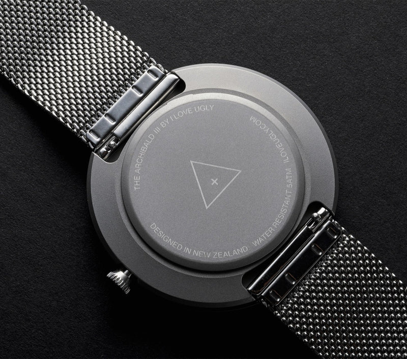 Archibald Watch - Silver Mesh