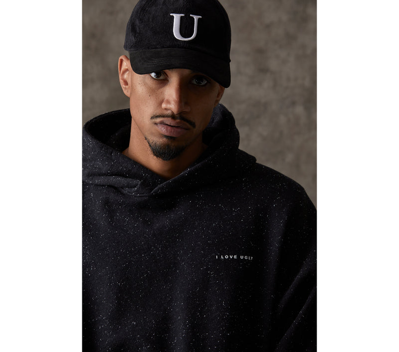 Box Fit Hood - Black Speckle