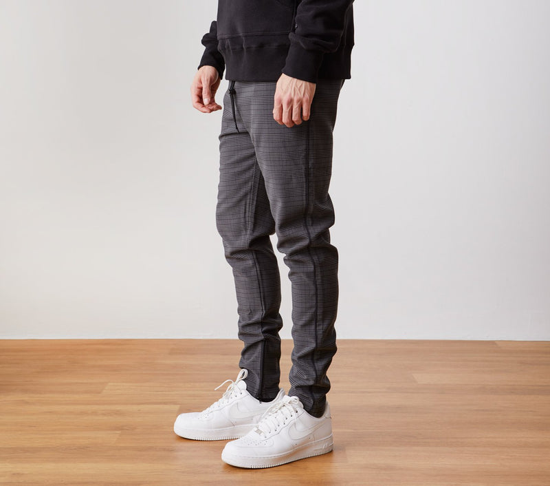 Piped Zespy Pant Mid Rise - St Kevins Check