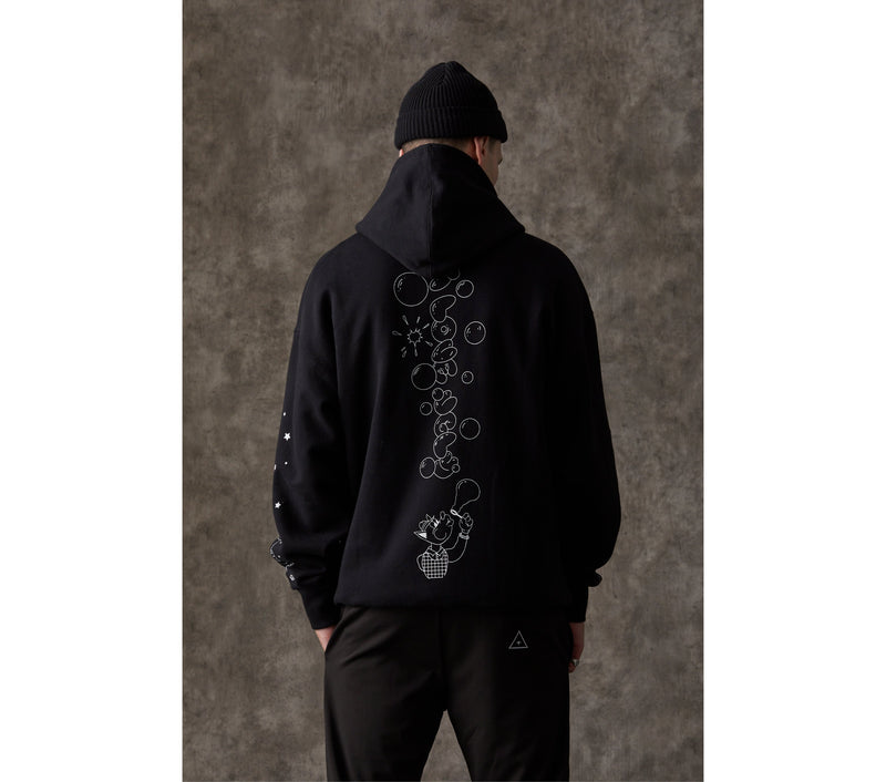 Long Gone Box Hood - Black