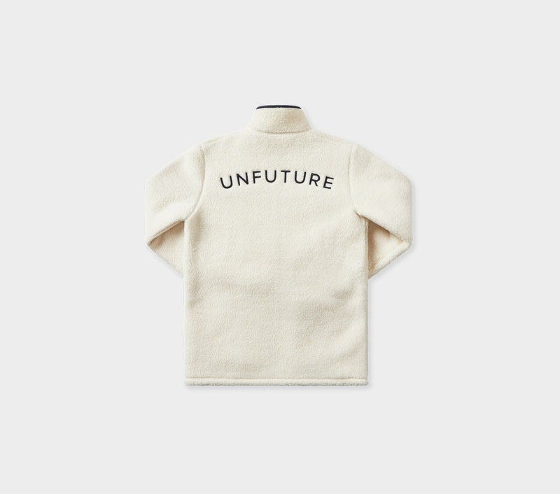 Unfuture Sherpa Jacket - Winter White