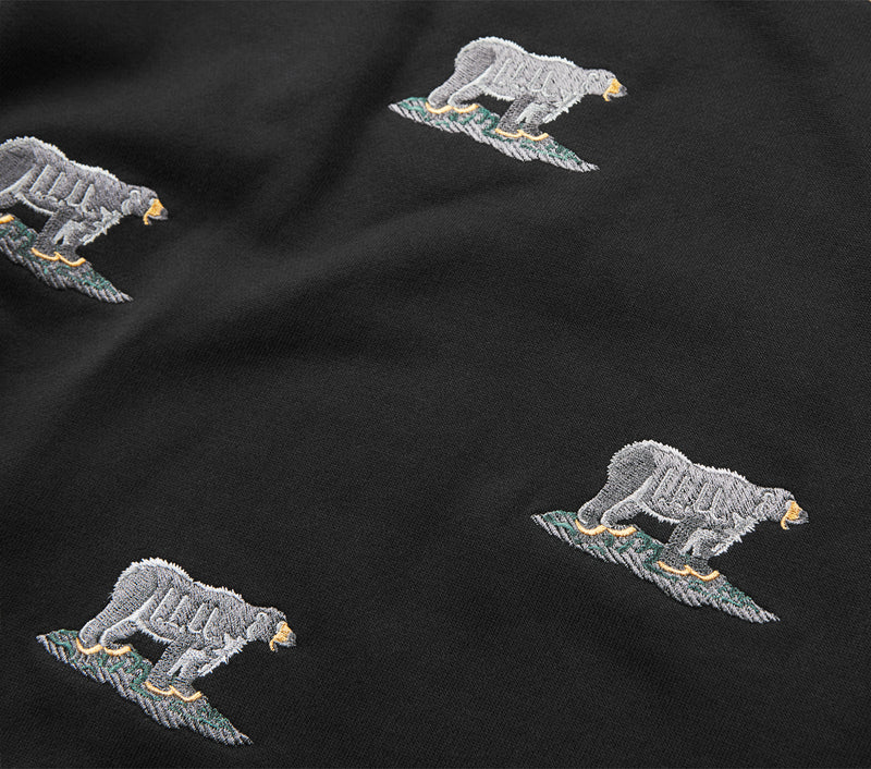 Black Bear Casper Crew - Black
