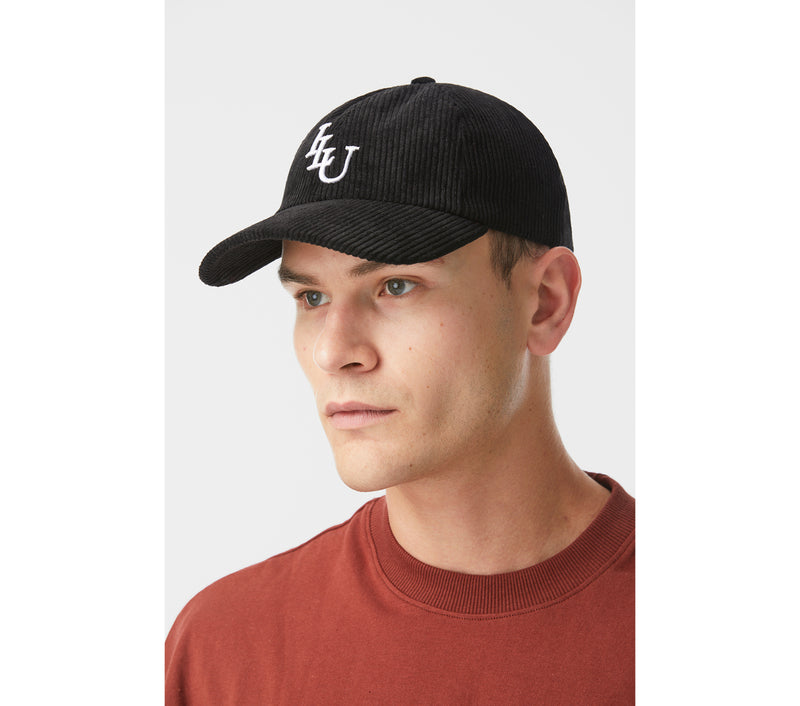Dad Cap - Black Corduroy