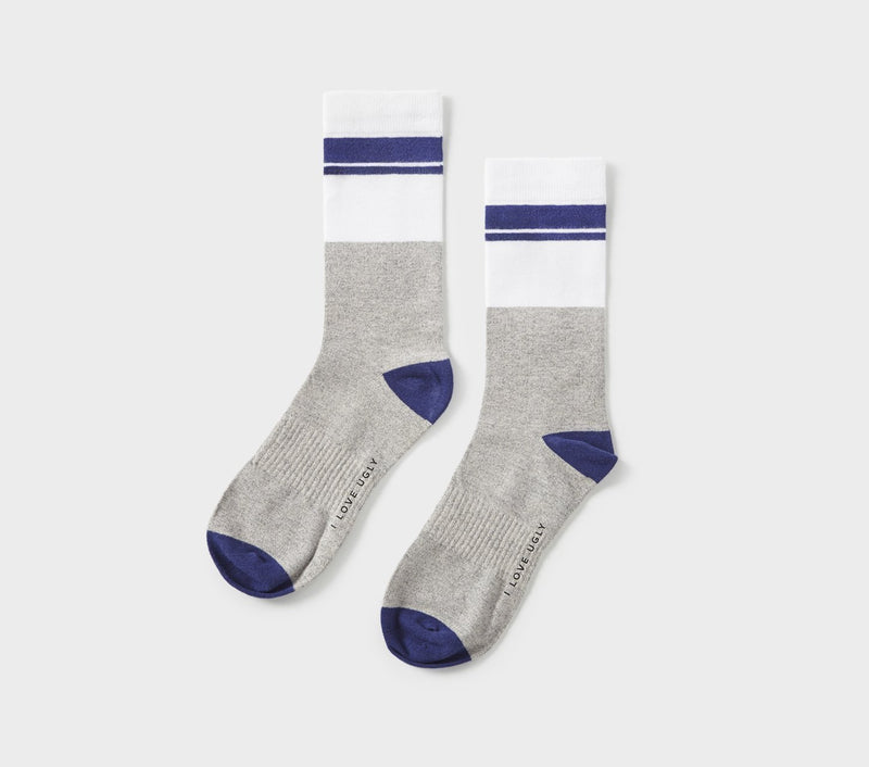Donny Sock - Navy Stripe