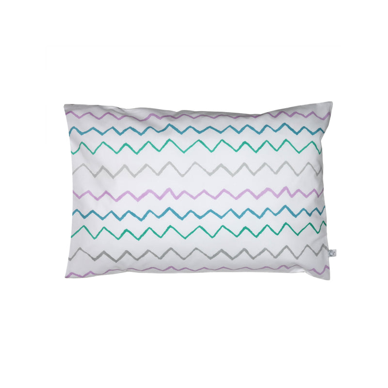 Handprinted Junior Cushion (Kid's pillow) – Crayon Lilac