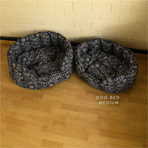 Dog Bed - Medium - Cup & Saucer