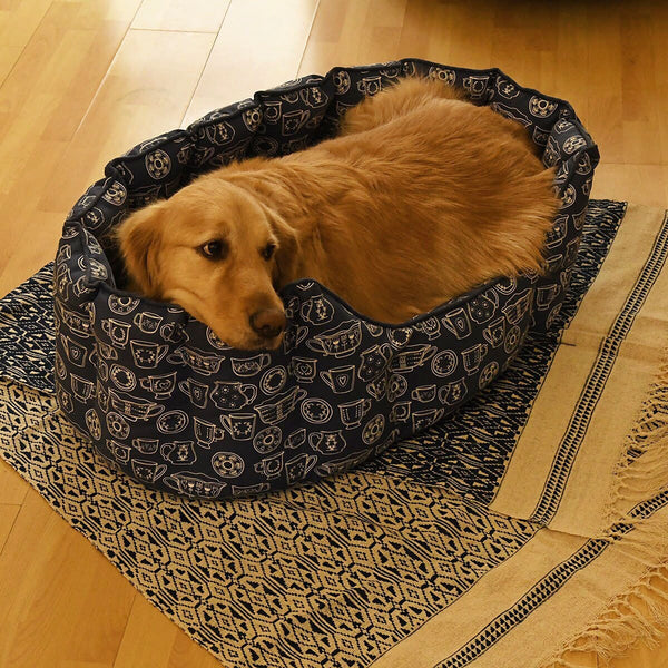 Dog Bed - Large - Cup & Saucer