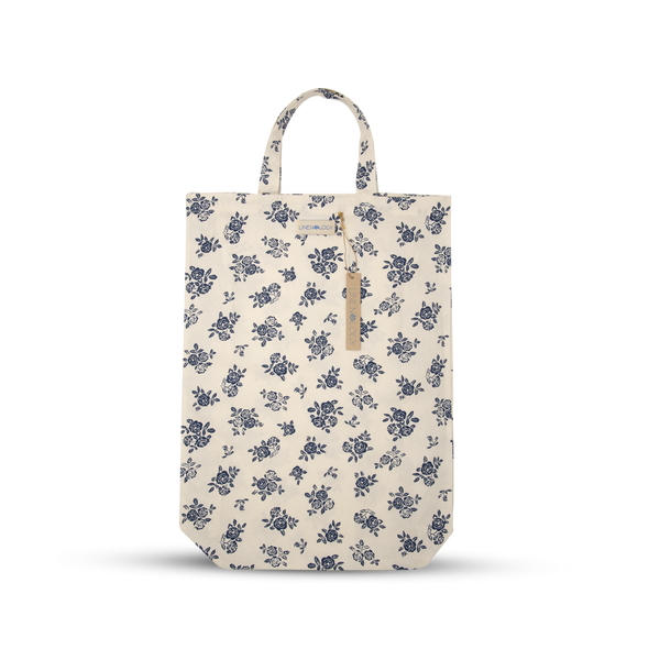 Shopping Bag - English Rose - Cream