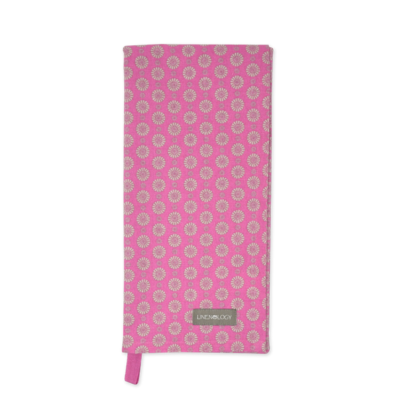 All Purpose Towel - Geo Pink Flambé
