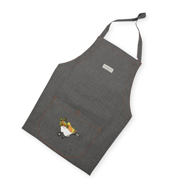 Apron - A Barrow full of Goodness - Black