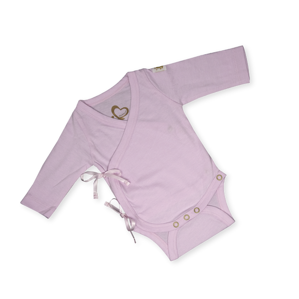 Organic Newborn Suit - A New Me - Pink