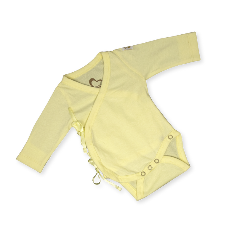 Organic Newborn Suit - A New Me - Yellow