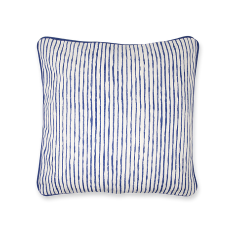Cushion Cover - India Ink - Egg Shell