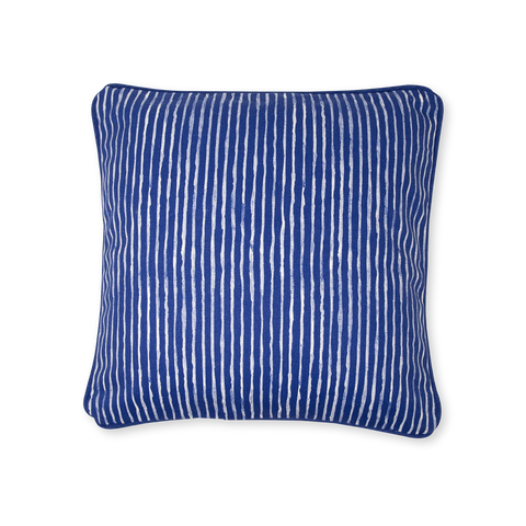 Cushion Cover - India Ink - Indigo