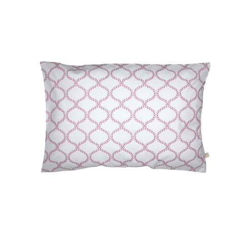 Handprinted Junior Cushion (Kid's pillow) – Jaipur - Mauve