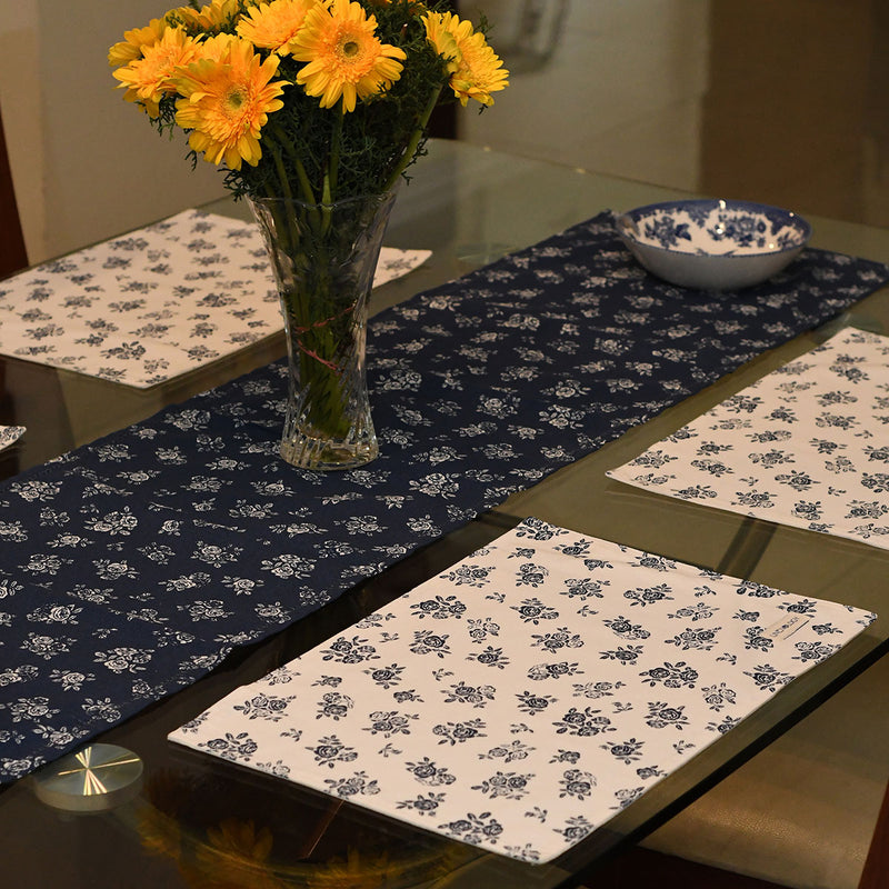 Place mats - English Rose - Cream