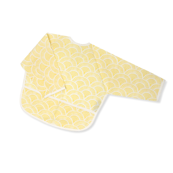 Acrylic Coated Feeding Apron - Art Deco - Yellow