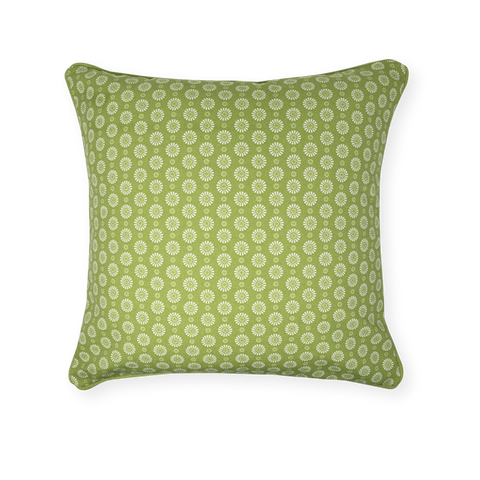 Cushion Cover - Geo Lime