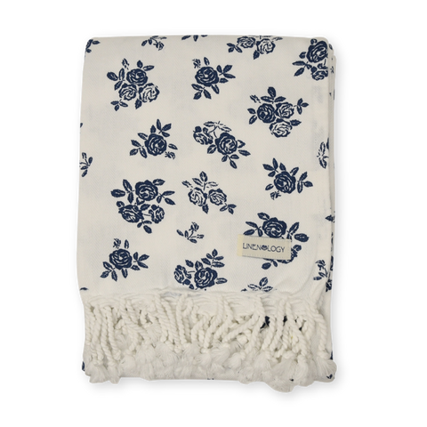 Hammam Towel - English Rose - Cream