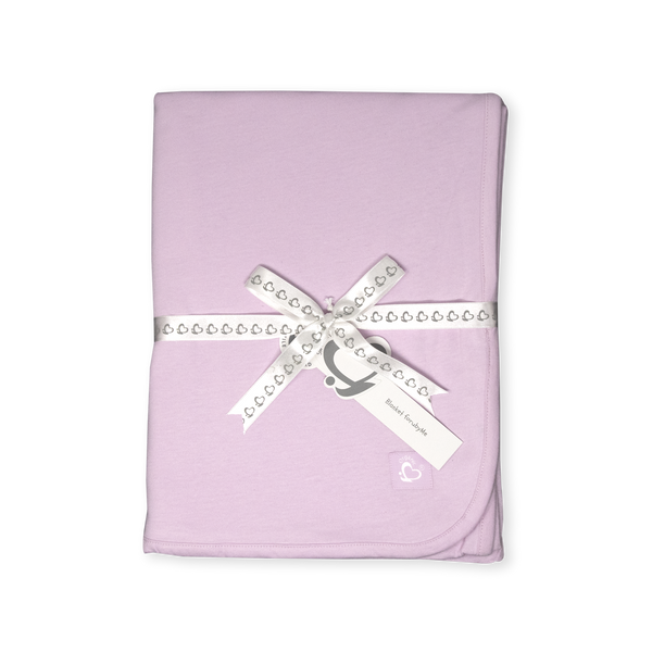 Organic Toddler Blanket – Pink