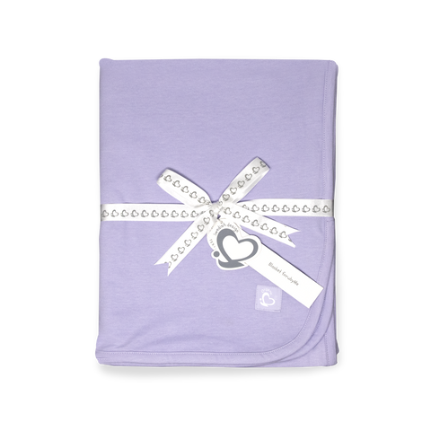 Organic Toddler Blanket – Lilac
