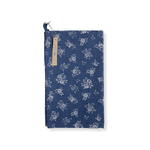 All Purpose Towel Set - English Rose - Navy