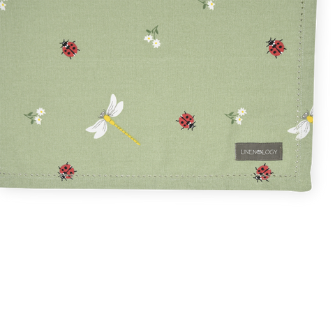 Table Runner - Ladybird