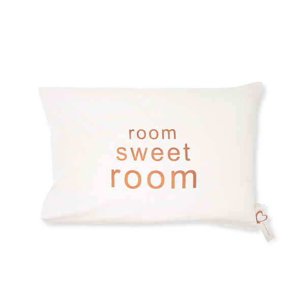 Handprinted Junior Cushion (Kid's pillow) – Room Sweet Room - Copper