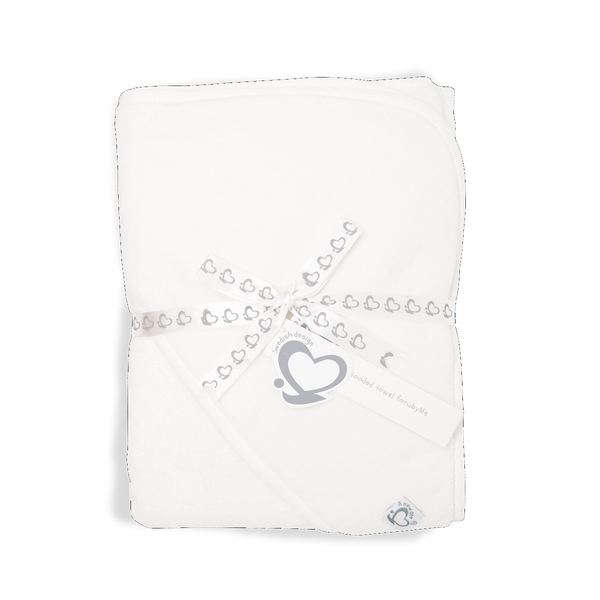 Hooded Towel – A New Me White