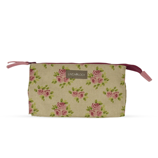 Makeup Bag Big - Vintage Rose