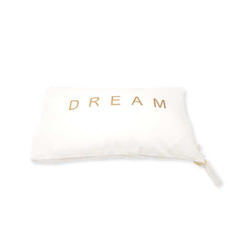 Handprinted Junior Cushion (Kid's pillow) – DREAM - Gold