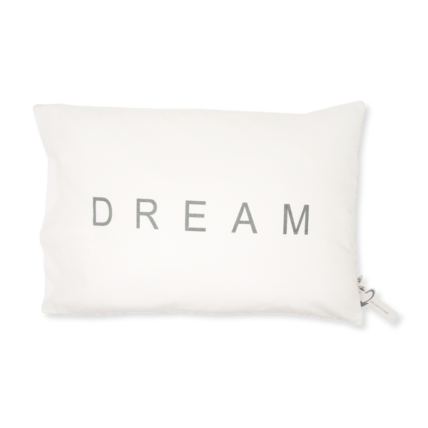 Handprinted Junior Cushion (Kid's pillow) – DREAM - Grey