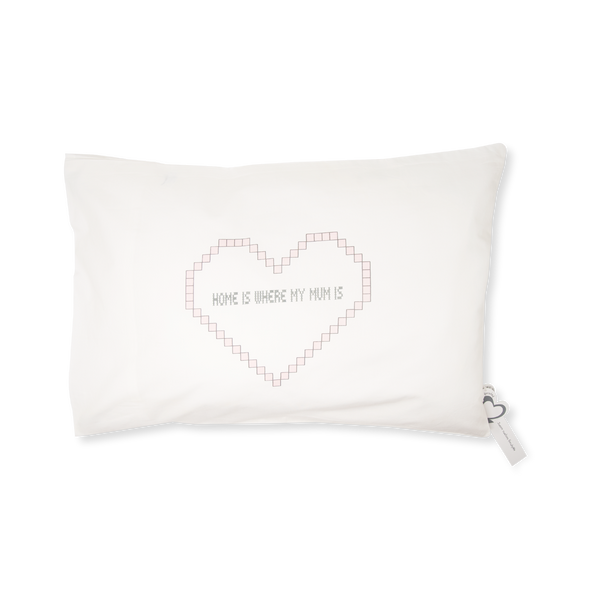 Handprinted Junior Cushion (Kid's pillow) – Home is where my mum is