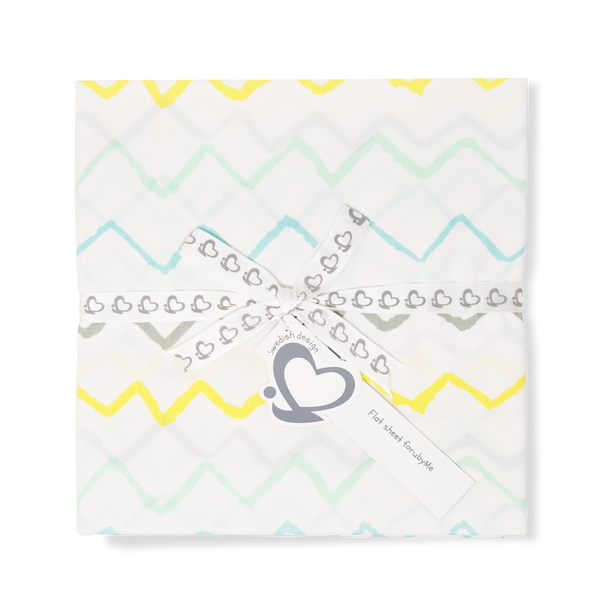 Baby Sheet  – Crayon Mint