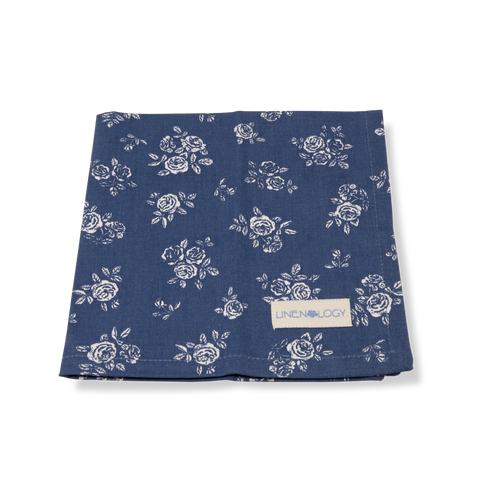 Napkins - English Rose - Navy