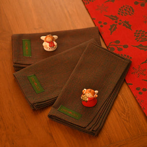 Napkins - Xmas Chambray
