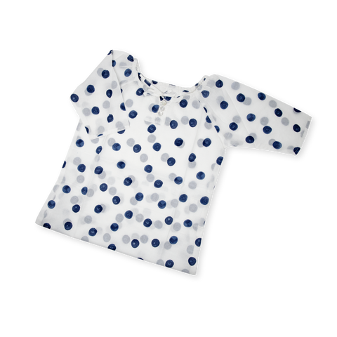 Organic Nightgown - Dots by Me