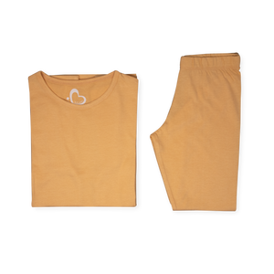 Organic Oversized Jersey Set - Orange