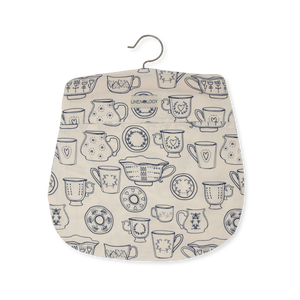 Peg Bag - Cup & Saucer - Cream