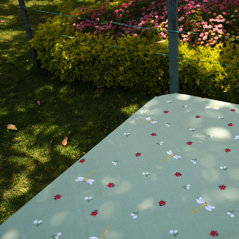 Acrylic Coated Table Cloth - Ladybird