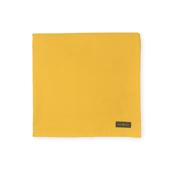 Acrylic Coated Table Cloth - Canary Yellow