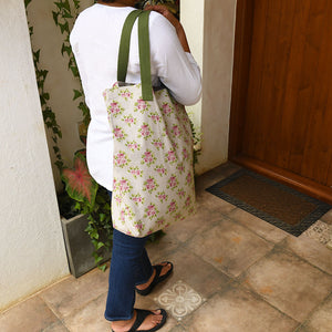 Canvas Tote - Vintage Rose