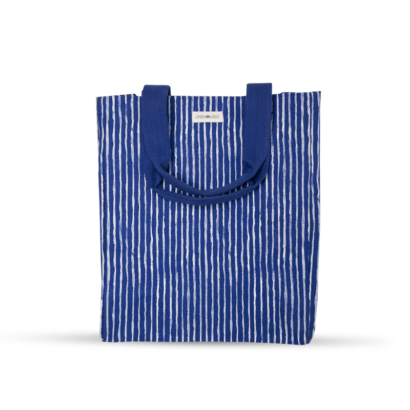 Canvas Tote - India Ink - Indigo