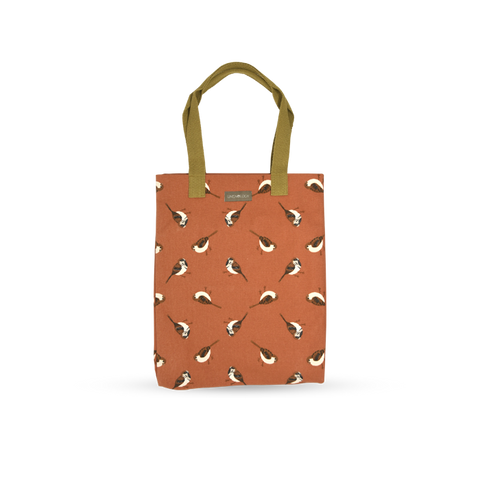 Canvas Tote - Sparrows - Burnt Chilli