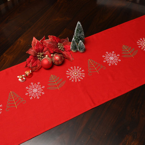 Table Runner  - Frosty Pine