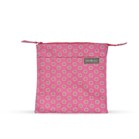 Wash Bag Tall - Geo Pink Flambé