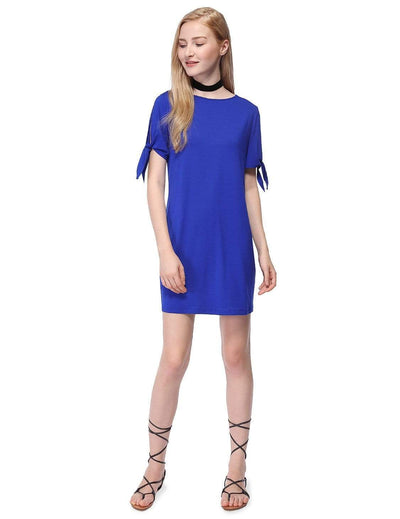Alisa Pan Short Sleeve T-Shirt Dress