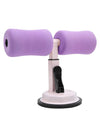 Portable Sit Up Bar Floor Self-Suction For Muscle Training -Purple 1